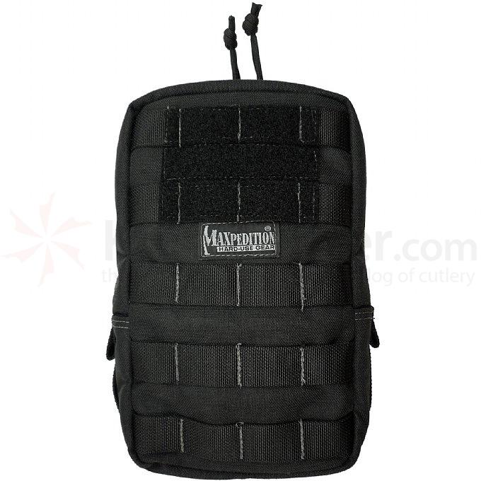 Maxpedition 0250B 6 inch x 9 inch Padded Pouch, Black