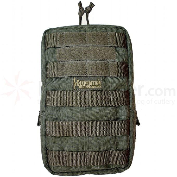 Maxpedition 0250F 6 inch x 9 inch Padded Pouch, Foliage Green
