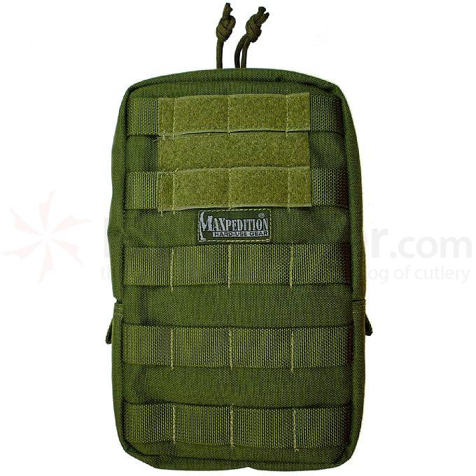 Maxpedition 0250G 6 inch x 9 inch Padded Pouch, OD Green