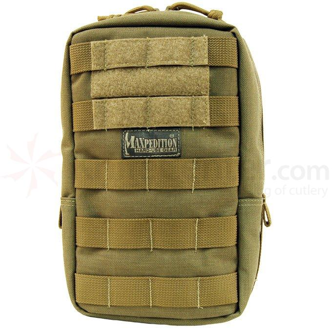 Maxpedition 0250K 6 inch x 9 inch Padded Pouch, Khaki