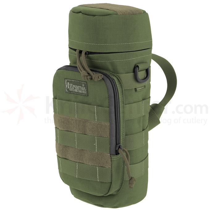 Maxpedition 0323B 12 inch x 5 inch Bottle Holder, OD Green