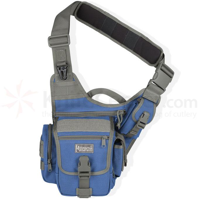 Maxpedition 0403RF Fatboy Versipack, Royal Blue-Foliage