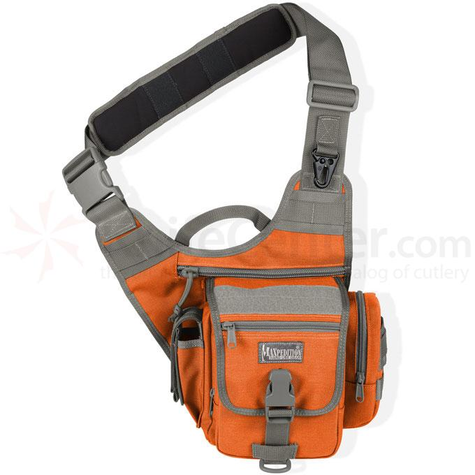 Maxpedition 0408OF Fatboy S-Type Versipack, Orange-Foliage