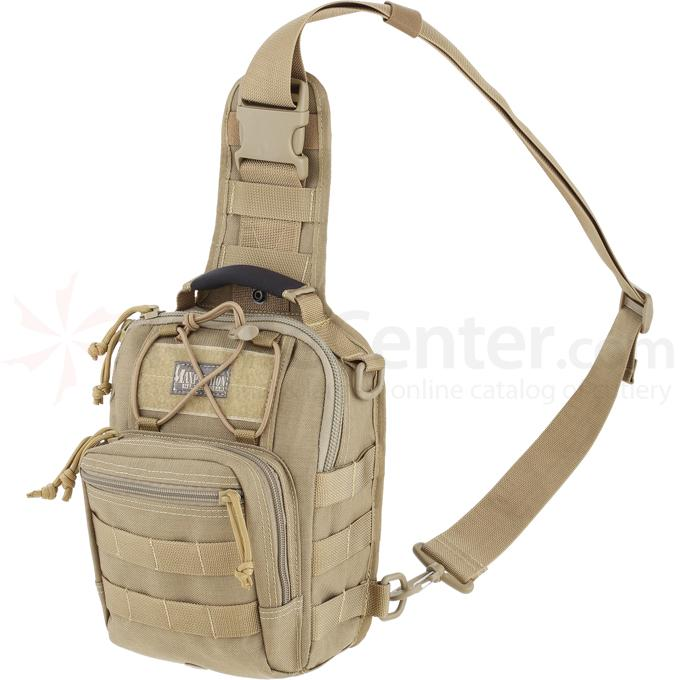 Maxpedition 0419K Remora Gearslinger Bag, Khaki