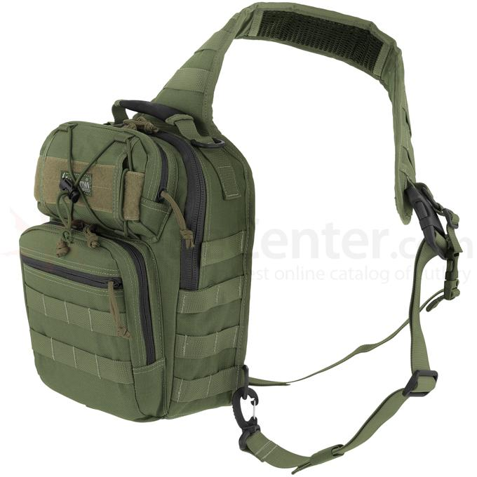 Maxpedition 0422G Lunada Gearslinger Bag, OD Green