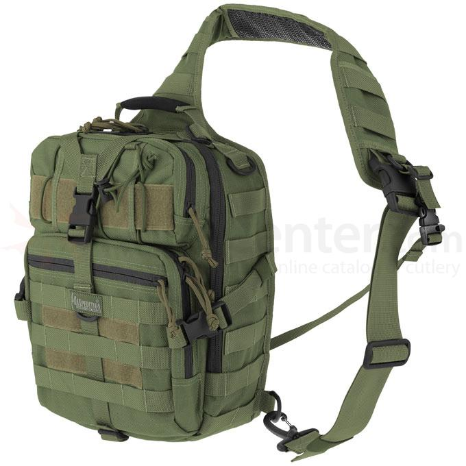 Maxpedition 0423G Malaga Gearslinger Backpack, OD Green