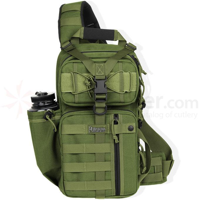 Maxpedition 0431G Sitka Gearslinger Backpack, OD Green
