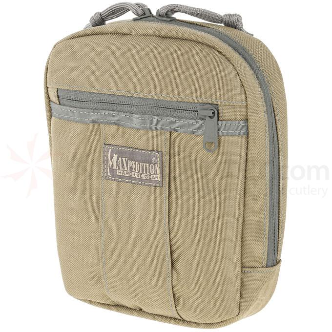 Maxpedition 0480KF JK-1 Concealed Carry Pouch, Small, Khaki-Foliage