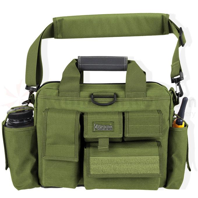 Maxpedition 0604G Last Resort Tactical Attache, OD Green