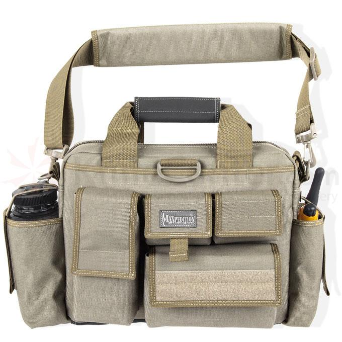 Maxpedition 0604K Last Resort Tactical Attache, Khaki