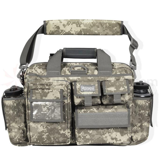 Maxpedition 0605DFC Operator Tactical Attache, ACU-Compatible Digital Foliage Camo