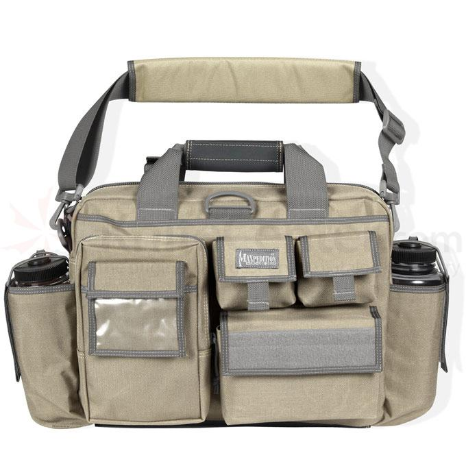 Maxpedition 0605F Operator Tactical Attache, Khaki-Foliage