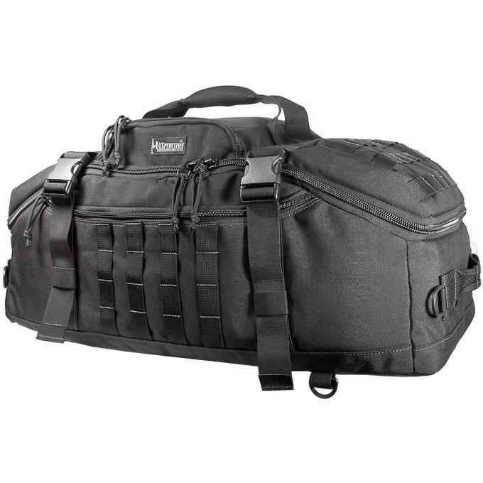Maxpedition 0608B Doppelduffel Adventure Bag, Black