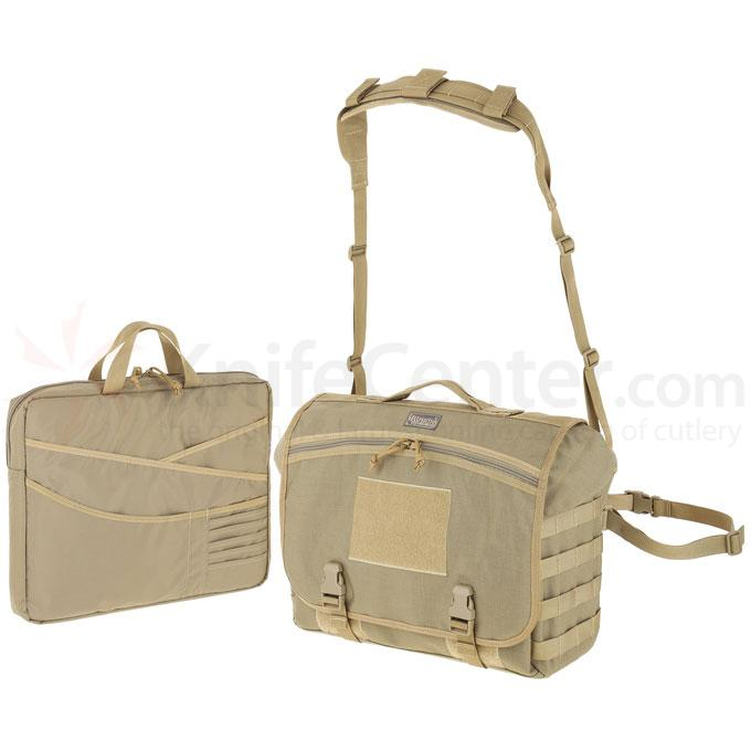 Maxpedition 0623K Vesper Messenger Bag, Khaki