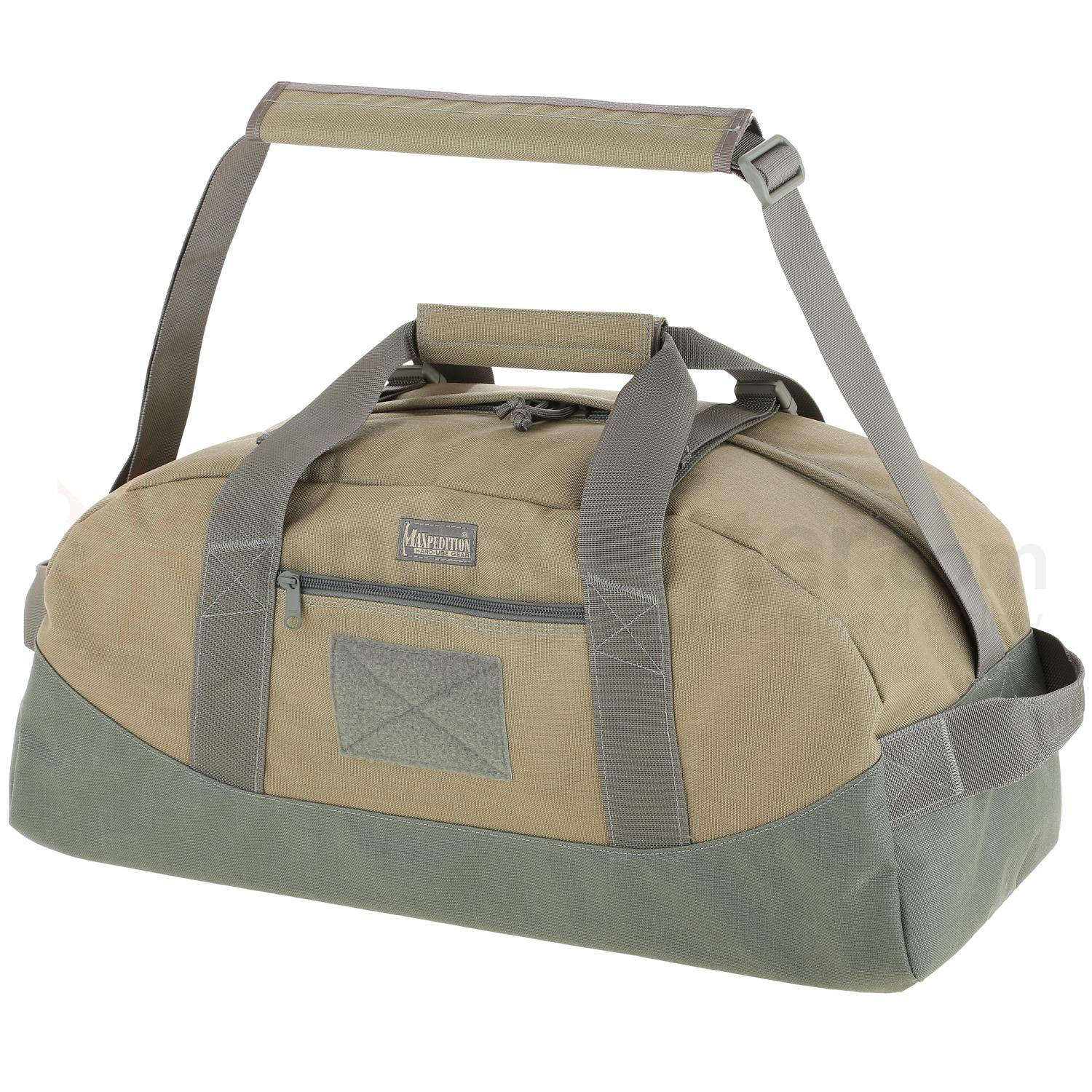 Maxpedition 0650KF Baron Load-Out Duffel Bag (Small), Khaki-Foliage