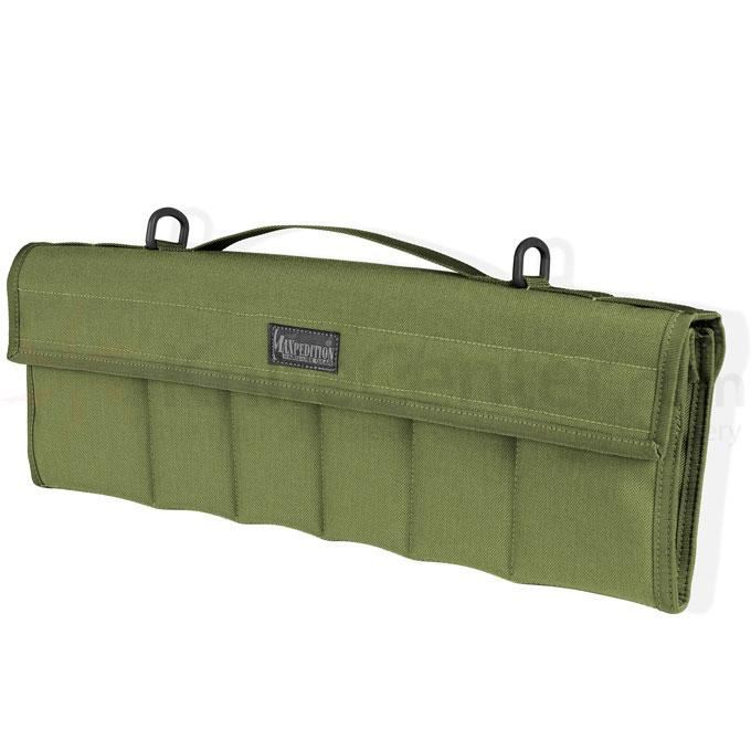 Maxpedition 1461G Dodecapod 12-Knife Carry Case, OD Green