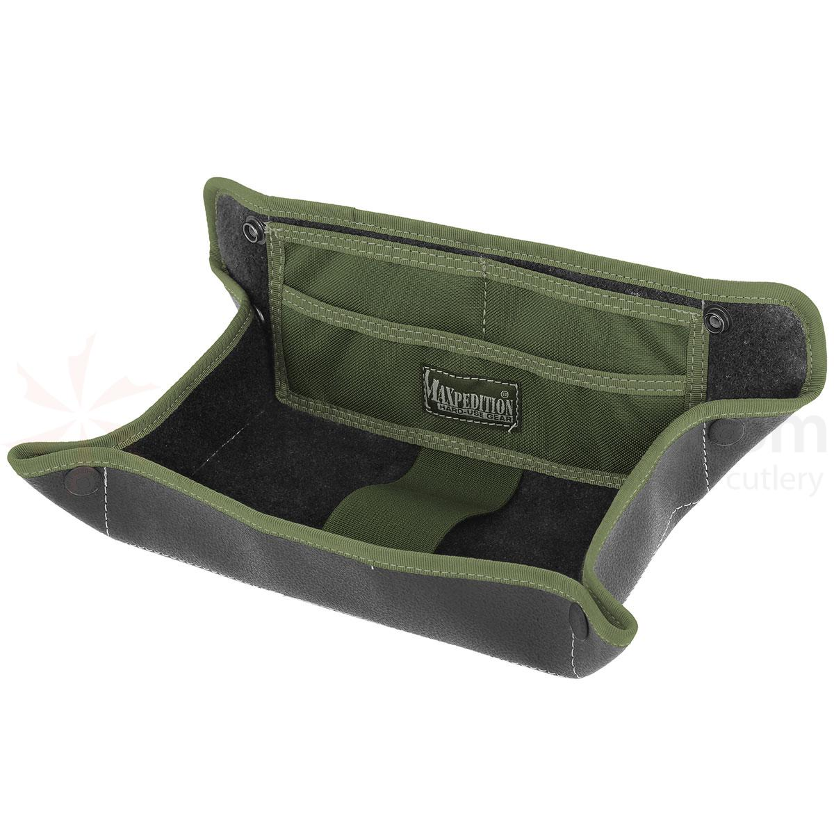 Maxpedition 1805G Tactical Travel Valet Tray, OD Green