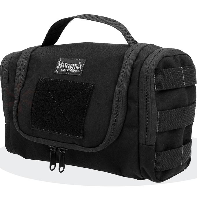 Maxpedition 1817B Aftermath Compact Toiletry Bag, Black