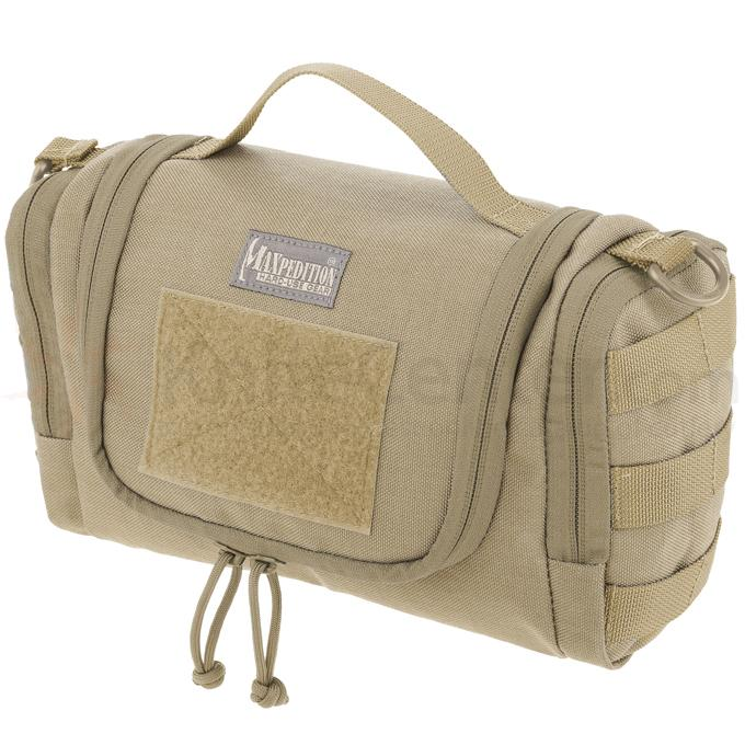 Maxpedition 1817K Aftermath Compact Toiletry Bag, Khaki