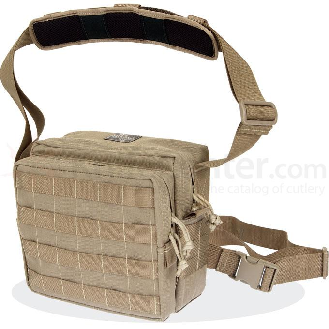 Maxpedition 9834K Active Shooter Bag - Pals Front, Khaki