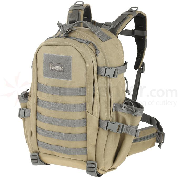 Maxpedition 9857KF Zafar Internal Frame Backpack, Khaki-Foliage