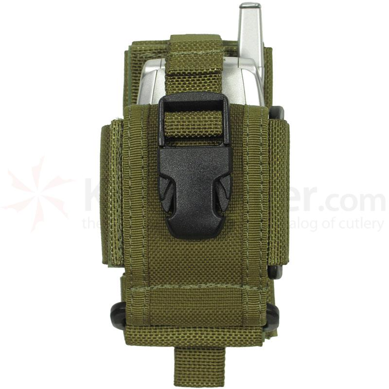 Maxpedition 0101G CP-M Medium Cell/Radio Holster, OD Green