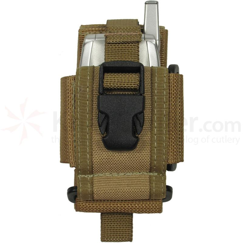 Maxpedition 0101K CP-M Medium Cell/Radio Holster, Khaki
