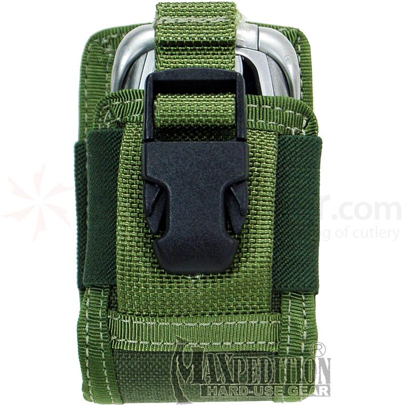 Maxpedition 0107G 3.5in. Clip-On Phone Holster, OD Green