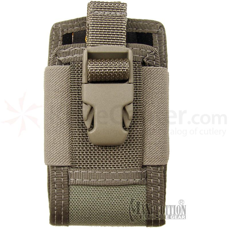 Maxpedition 0108F 4in. Clip-On Phone Holster, Foliage Green