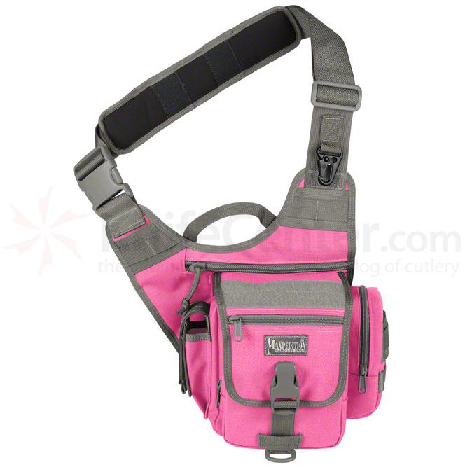 Maxpedition 0408PF Fatboy S-Type Versipack, Pink-Foliage