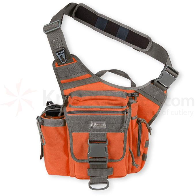 Maxpedition 0412OF Jumbo Versipack, Orange-Foliage