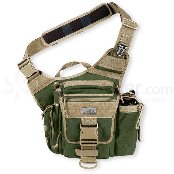 Maxpedition 0413GK Jumbo S-Type Versipack, Green-Khaki