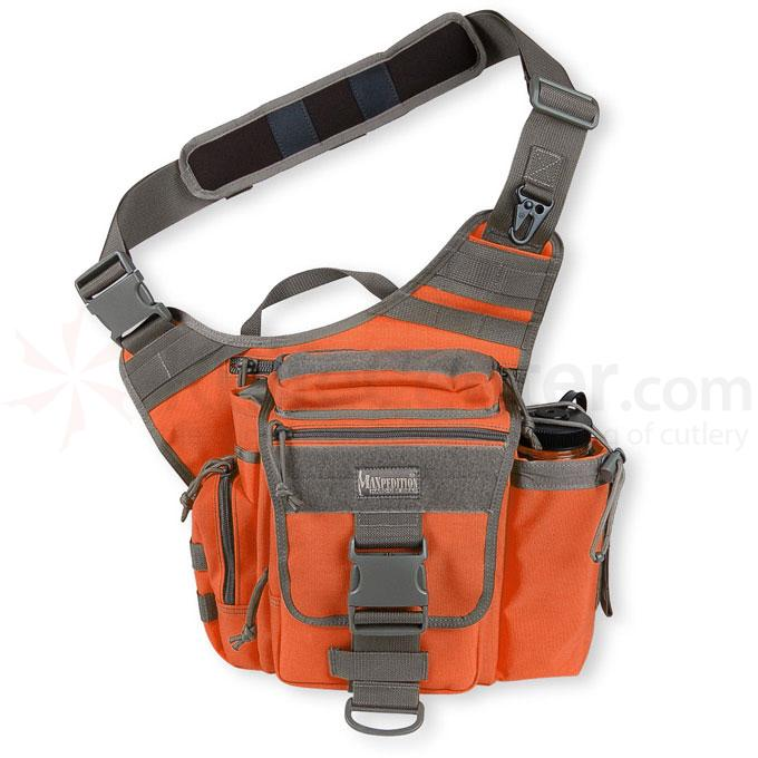 Maxpedition 0413OF Jumbo S-Type Versipack, Orange-Foliage