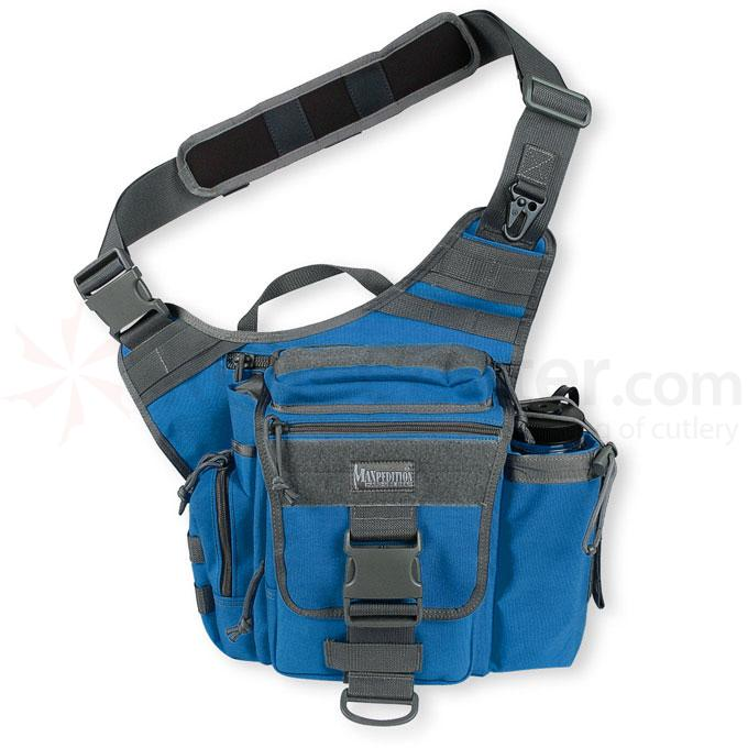 Maxpedition 0413RF Jumbo S-Type Versipack, Royal Blue-Foliage
