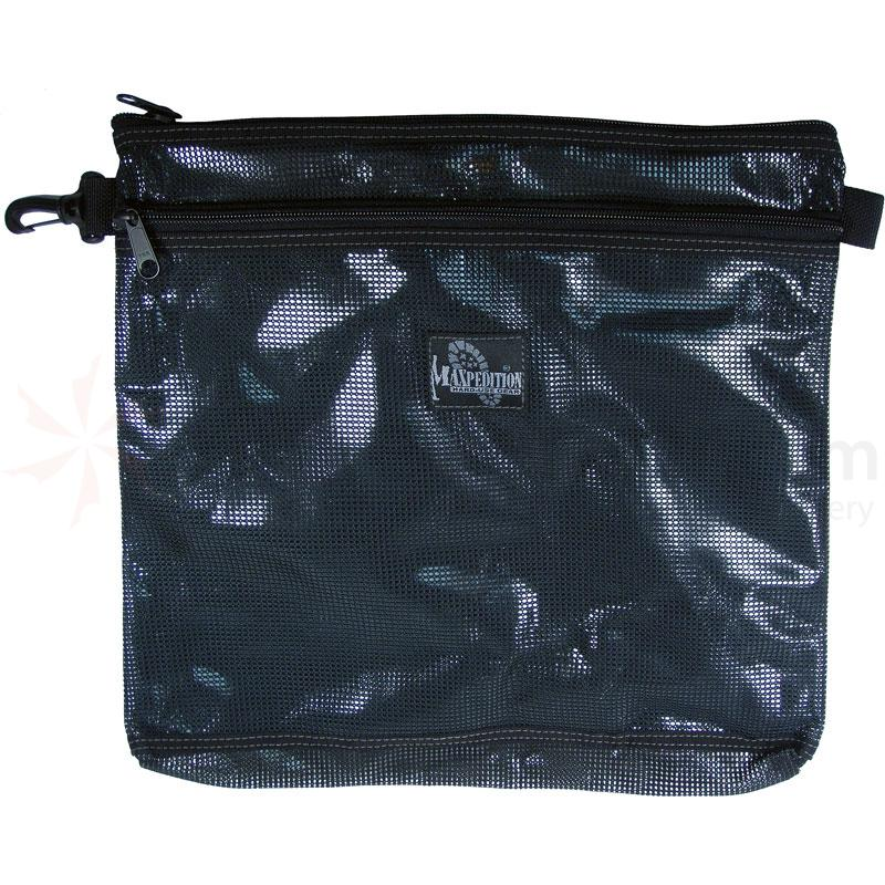 Maxpedition 1808B Moire Pouch 12 inch x 12 inch, Black
