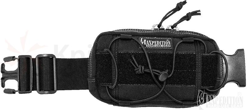 Maxpedition 8001B Janus Extension Pocket, Black