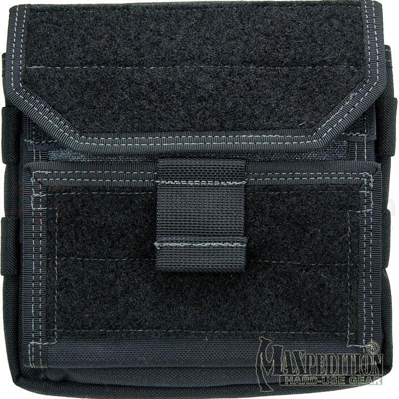 Maxpedition 9811B Monkey Combat Admin Pouch, Black