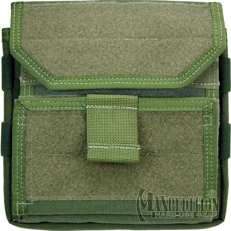 Maxpedition 9811G Monkey Combat Admin Pouch, OD Green