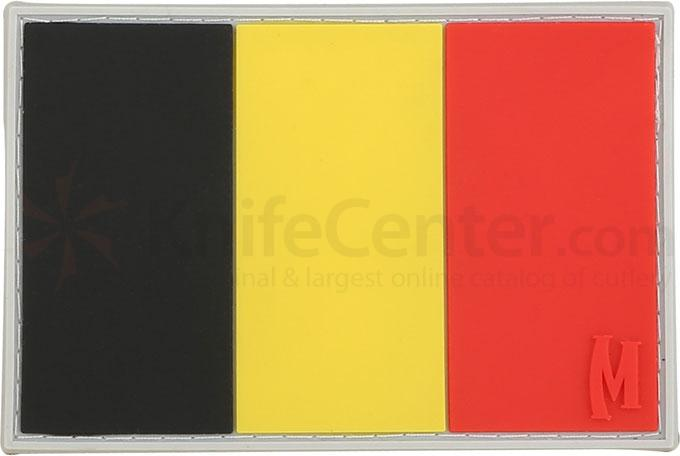Maxpedition PVC Belgium Flag Patch