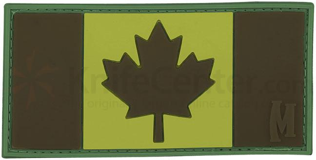 Maxpedition PVC Canada Flag Patch, Subdued