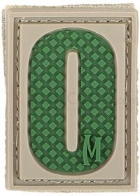 Maxpedition PVC Number 0 Patch, Arid