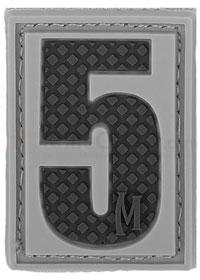 Maxpedition PVC Number 5 Patch, SWAT
