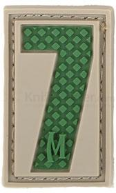 Maxpedition PVC Number 7 Patch, Arid