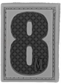 Maxpedition PVC Number 8 Patch, SWAT