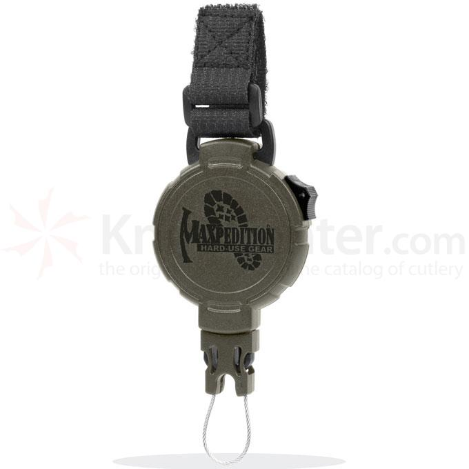 Maxpedition RL2G Tactical Gear Retractor, Large, Strap, Green