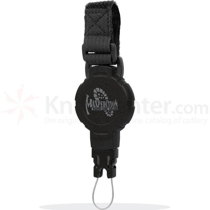 Maxpedition RM2B Tactical Gear Retractor, Medium, Strap, Black