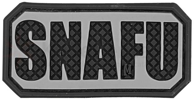 Maxpedition PVC SNAFU Patch, SWAT