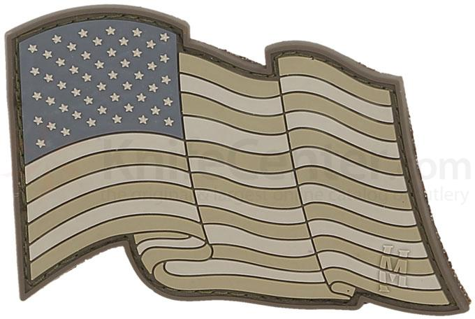 Maxpedition PVC Star Spangled Banner Patch, Arid
