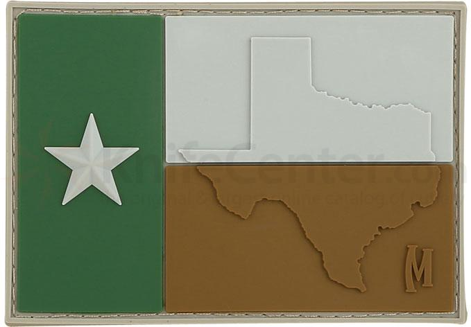 Maxpedition PVC Texas Flag Patch, Arid