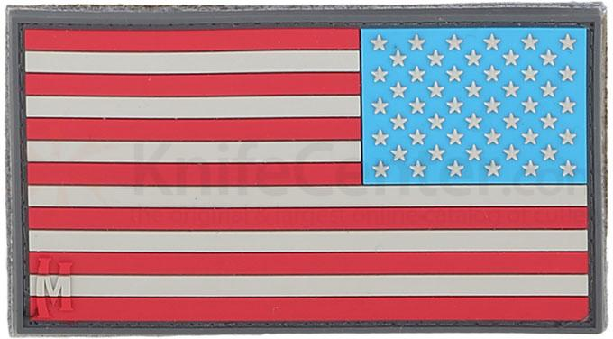 Maxpedition PVC Large Reverse USA Flag Patch